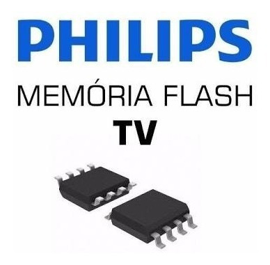Memoria Flash Tv Philips 32pfl3018 D78 Gravada Original