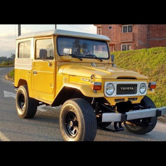 Toyota Land Cruiser Fj 43 , 4200 Cc En Excelente Estado