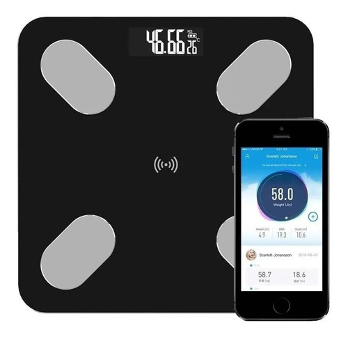 Bascula Inteligente Pesa Bluetooth Vidrio Digital App Nueva