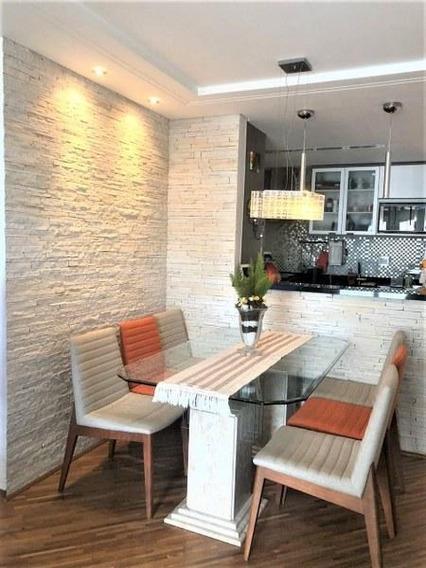 Apartamento Com 3 Dormitórios À Venda, 76 M² Por R$ 619.000 - Anália Franco - São Paulo/sp - Ap5123