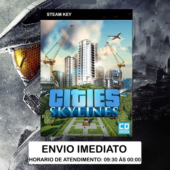 Cities Skylines Steam Pc Cd Key - Sem Juros