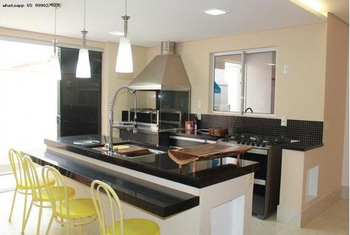 Imagem 1 de 12 de Casa Para Venda Em Cuiabá, Jardim Imperial, 3 Dormitórios, 1 Suíte, 2 Banheiros, 2 Vagas - 791_1-1791199
