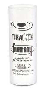 Imagem 1 de 3 de Corante Roupa Tinge Cor Guarany Tiracor 40g 6 Tubos