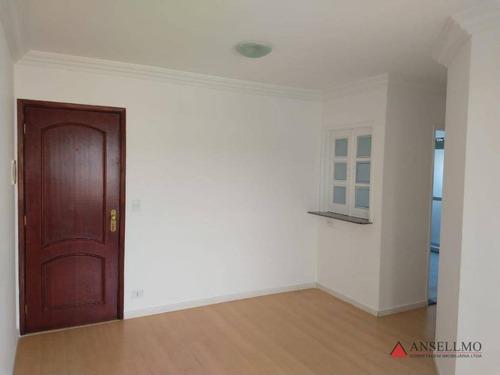 Apartamento Com 2 Dormitórios À Venda, 58 M² Por R$ 296.800,00 - Silveira - Santo André/sp - Ap1713