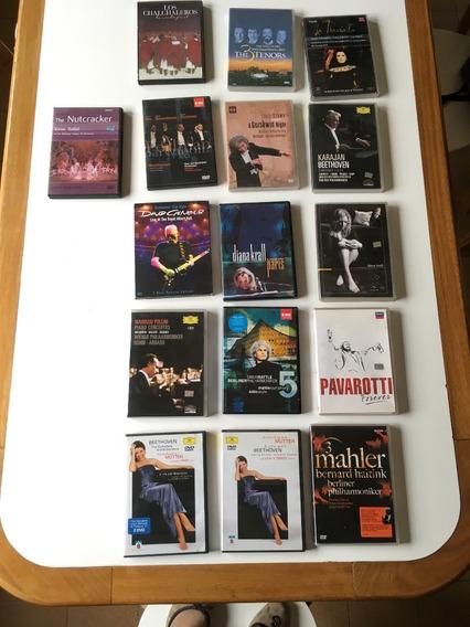 Dvds Música Clásica,tenores,ballet,diana Krall,ópera.lote16
