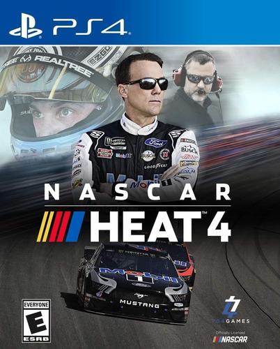 Ps4 Nascar Heat 4 / Fisico