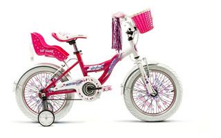 Bicicleta Raleigh Lilhon Rodado 16 Aluminio Nena
