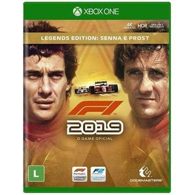 Jogo Novo Midia Fisica F1 2019 Legends Edition Para Xbox One