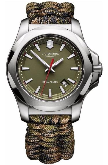 Reloj Victorinox Inox Paracord 241727 Suizo Verde Oficial