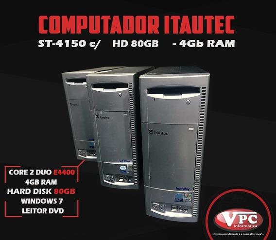 Computador Itautec Core 2 Duo E4400 Memoria Ram 4gb