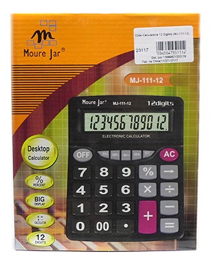 Calculadora 12 Digitos (mj-111-12)
