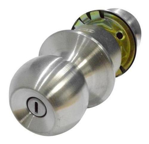 Imagen 1 de 1 de Chapa Bola Baño P/metalico Gato Cromo-mate (ref-276)