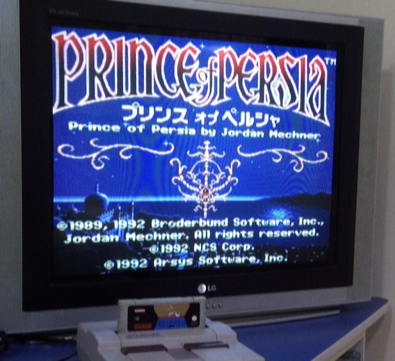 Prince Of Persia Cartucho De Super Nintendo Snes