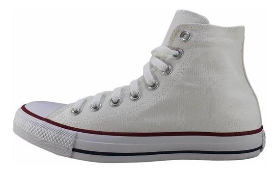 Tênis Converse Chuck Taylor All Star Core Hi Branco + Frete