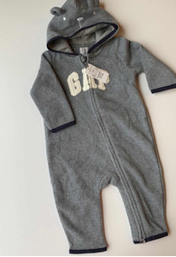 Macacão Gap Fleece Infantil 3-6 Meses