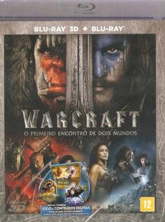 Blu-ray 3d + Blu-ray Warcraft - O Primeiro Encontro De Mundo