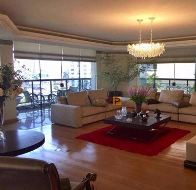 Apartamento Com 4 Dormitórios À Venda, 464 M² Por R$ 3.500.000 - Centro - Americana/sp - Ap0371