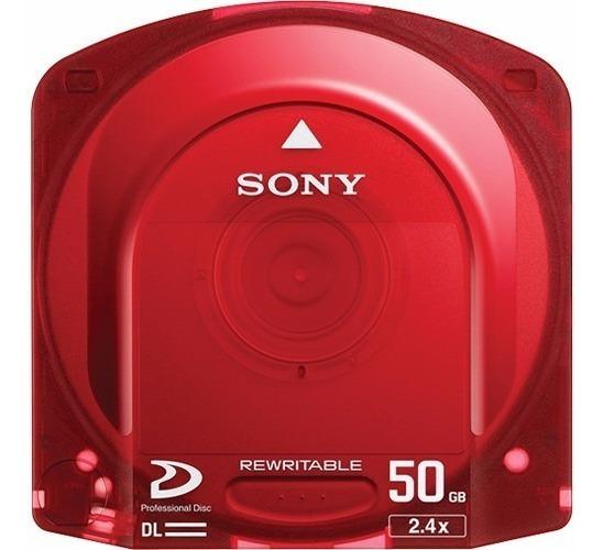 Sony Xdcam 50gb (vermelho)