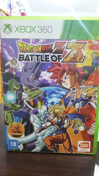 Dragon Ball Battle Of Z Xbox 360 - Usado Midia Fisica
