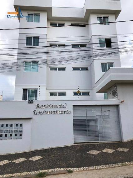 Apartamento Com 2 Dormitórios À Venda, 55 M² Por R$ 175.000 - Cidade Universitária - Anápolis/go - Ap0388