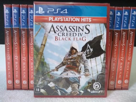 Assassins Creed Iv Black Flag Ps4 Física Novo Lacrado