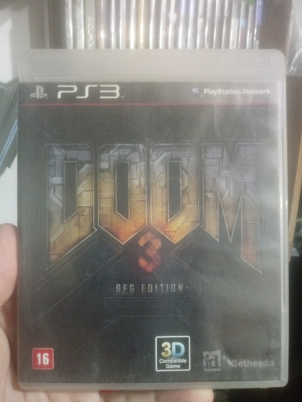 Doom 3 Bfg Edition Ps3 Semi Novo