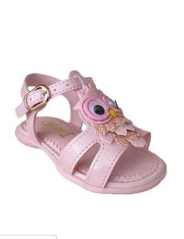 Sandalia Infantil Kidy Corujinha 0651 Equilibrio Rosa Baby