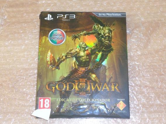 God Of War 3 Edição De Colecionador - Ps3