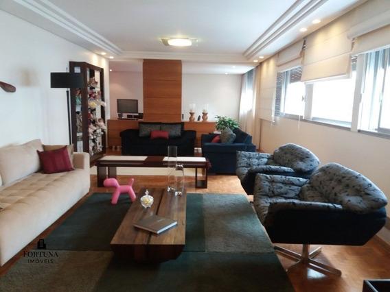 Higienópolis - Apartamento Impecável Com 300 M², Três Vagas - Ap00821 - 34284770