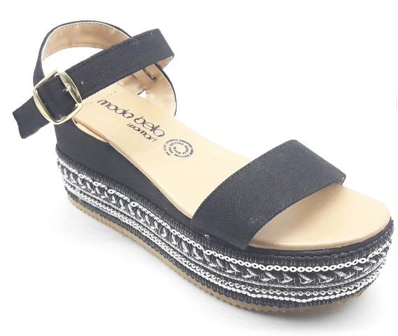 Sandalias Dama Huarache Calzado Zapato Casual Chancla Bl2291
