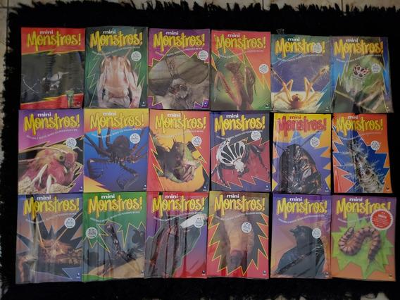 Coleção Revistas Mini Monstros Ed.globo