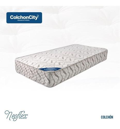 Colchon De Espuma Con Pillow Alta Densidad 190 X 080 35kg/m3