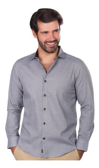 Camisas Hombre Casual Vestir Moda Formal Slim Fit Algodon