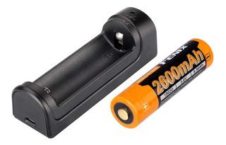 Cargador De Batería Fenix Are-x1 + Bateria 18650 2300mah