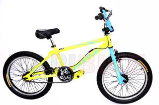 Bicicleta Rodado 20 Freestyle Bmx Venzo Inferno Niño Niños