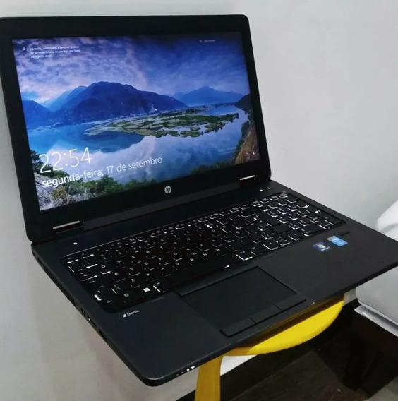 Notebook Hp Zbook15 I7 4600 4gb Hd 500gb