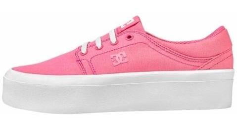 Tenis Dama Dc Shoes Trase Platform 826839