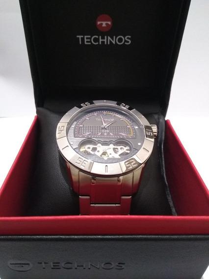 Relógio Technos Automático Masc Lendas Do Podium 2039aq-1p