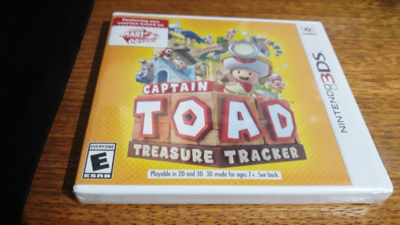 Captain Toad Treasure Tracker Lacrado Nintendo 3ds
