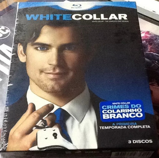 Box Blu-ray : White Collar 1º Temporada Original - 3 Discos