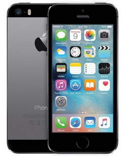 iPhone 5s 16gb Space Gray Liberado - 3 Meses De Garantia!