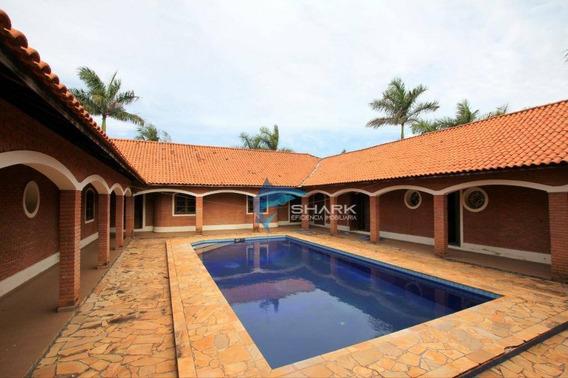 Fazenda Com 10 Dormitórios À Venda, 2589400 M² Por R$ 8.500.000,00 - Zona Rural - Anhembi/sp - Fa0002