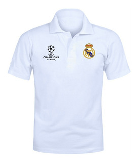 Camiseta Camisa Polo Torcedor Real Madrid Champions 2020