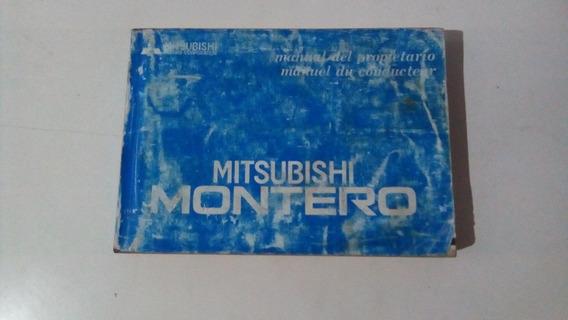 Manual Do Proprietário Mitsubishi Montero 95