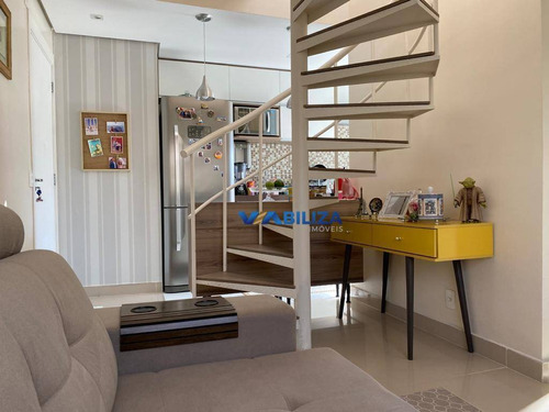 Cobertura Com 2 Dormitórios À Venda, 86 M² Por R$ 469.000,00 - Jardim Las Vegas - Guarulhos/sp - Co0067