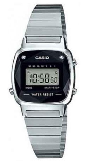 Relógio Casio Vintage La670wad-1df Diamond Original Nf