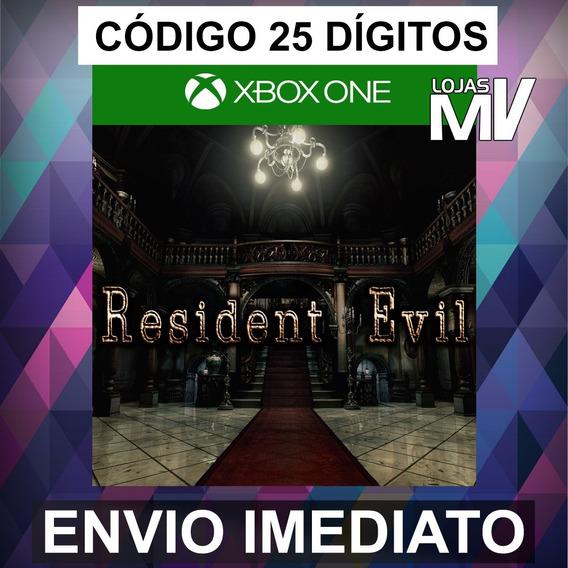 Resident Evil 1 Remake Codigo 25 Digitos Xbox One