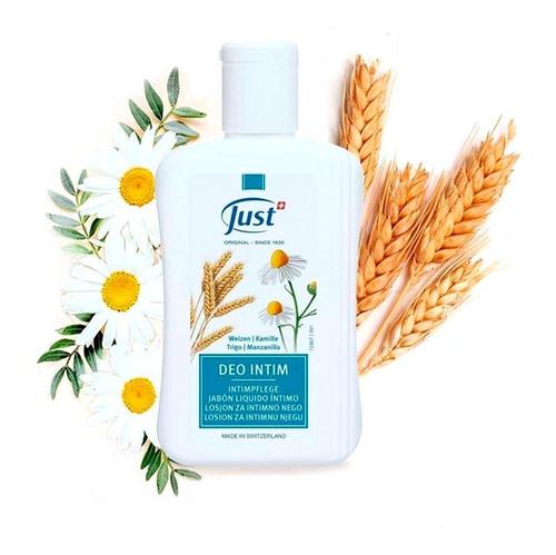 Gel Herbal Deo Intim Just 250ml Producto Higiene Intima