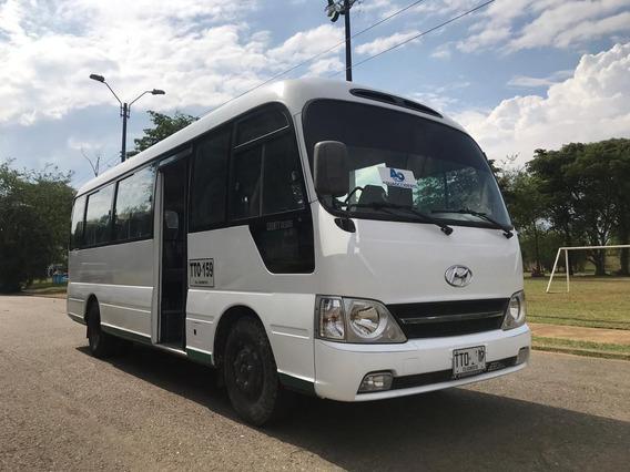 Buseta Hyundai County 23 Pasajeros Excelente Estado