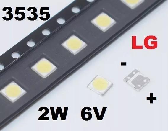 Led Lg 6v 2w 3535 Lote 20 Unidades